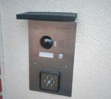Visiophone Dahua IP VTO2000A + Digicode Came