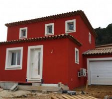 Maison repeinte avec Parex Lanko Crylane PR184