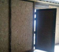 Porte de garage provisoire