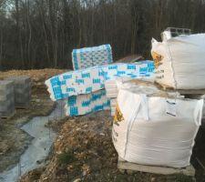 Materiaux pour préparation du vide sanitaire et dalle