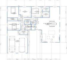 1er pas du dessin de la maison pour avis