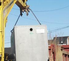Récupérateur eau pluviale 3000l