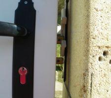 systeme de fermeture du portillon