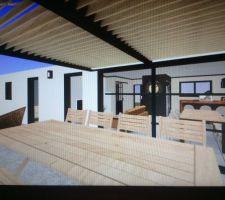 visuel 3d vu terrasse