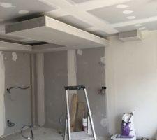 notre faux plafond de cuisine