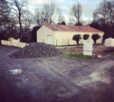 Livraison pierres pour terre-plein