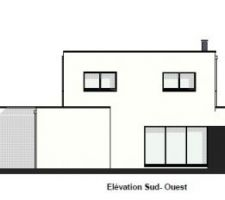 ELEVATION SUD OUEST