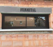 Fenêtre bandeau 2,50m