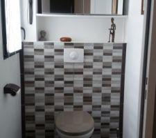 Deuxième wc terminé