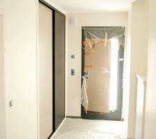 finition peinture hall entree