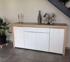 Nouveau meuble sous escalier