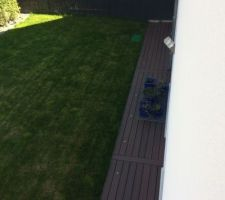vue depuis l une des chambres de l etage du massif du jardin au nord ouest