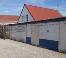 20170330 - Mûr de séparation à habiller - Couvres mur posés