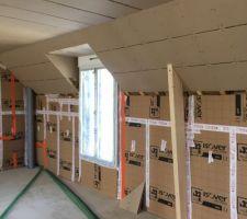 Réalisation des plafonds d'étage