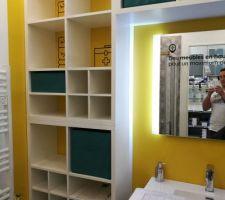 Idée aménagement pour la salle de bain enfants