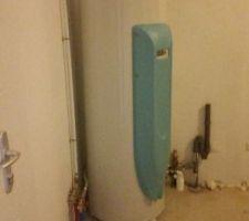 chauffe eau thermodynamique odyssee 2 de atlantic dans le garage