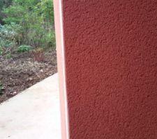 Idée crépis gratté couleur mexico PRB de près Nous avions retenu le Burgos sur les échantillons, mais le Mexico est bien aussi. En reflexion