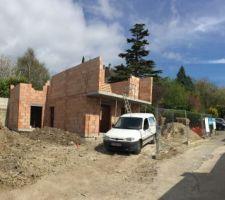 elevation murs etage jour 3
