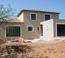 Maison : Parexlanko T18 Garage : Parexlanko G102