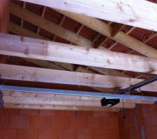 Nos 1ers travaux dans la maison la mezzanine du garage