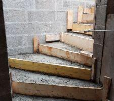 Notre escalier du sous-sol.