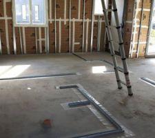 future chambre salle d eau wc et emplacement escalier