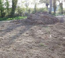 reste de terre vegetale