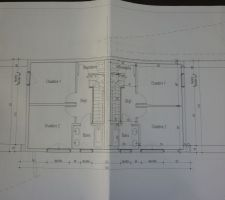 les plans du 2 eme etage