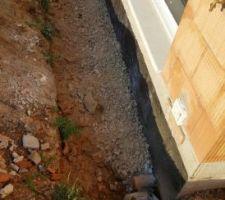 Remplacement du drain semi périphérique