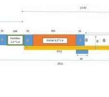 Plan muret 1.20 + portail et portillon