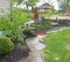 jardin structure en cours