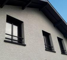 Barre d'appui de fenêtre