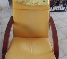 Ancien rocking-chair que je vais relooker