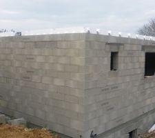 elevations des murs des murs du rez de chaussee ok