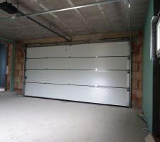 isolation et porte de garage