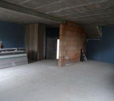 isolation et cloisons garage