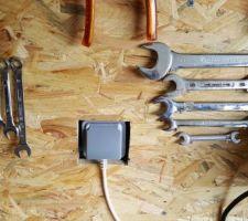 rangement des outils cles