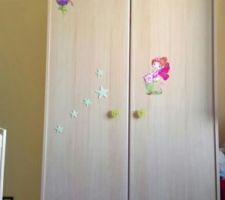 Armoire chambre de bébé