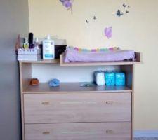 Table à langer chambre de bébé
