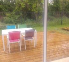 Terrasse utilisable, enfin quand il fera beau ^-^