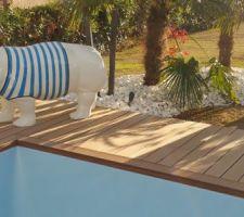 Annabelle notre hippopotame de chez CULTURE DESIGN Portet sur Garonne