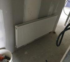 Radiateur couloir étage