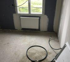 Radiateur chambre étage