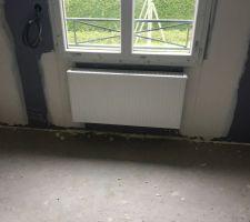 radiateur chambre etage