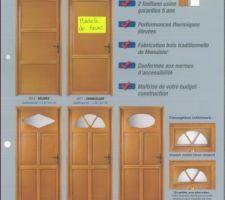 Portes en bois proposés