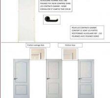 Portes proposés