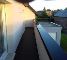 Le Balcon : 10 m de long !