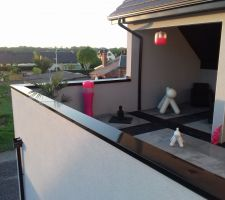 Terrasse d'etage