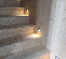 Spots escalier Celiane