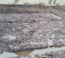 la terre creuse il a plu toute la journee